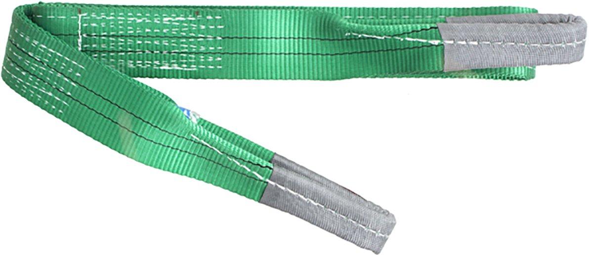 1mtr 2 Tonne Duplex Polyester Webbing Lifting Cargo Sling Strap Strop 1-10mtr EWL Certified BSEN1492-1 2000