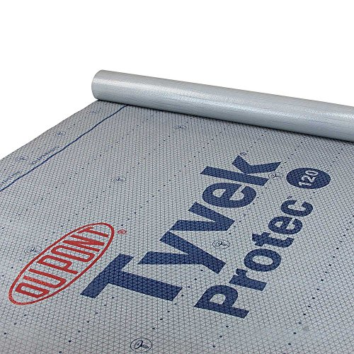 DuPont Tyvek Protec 120 Roof Underlayment - 4' x 250' Roll by Unknown