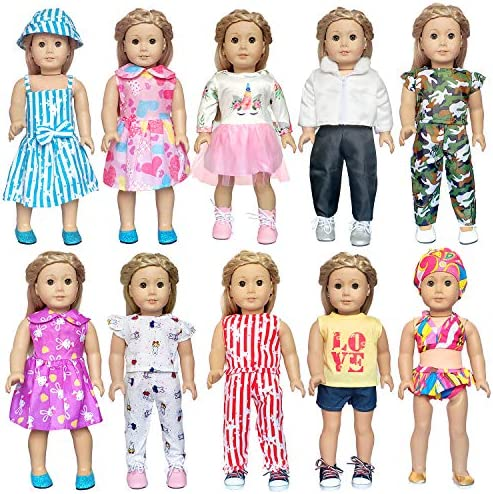 ARTST 18 inch Doll-Clothes-Accessories American-Girl-Doll-Clothes for 18-Inch-American-Girl-Dolls, My-Life-Dolls, Our-Generation-Dolls