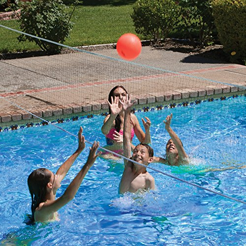 61HSqarzvGL - Poolmaster Pro Rebounder Swimming Pool Basketball and Volleyball Game Combo, In-Ground Pool