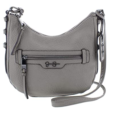 9d3baac59ef Jessica Simpson Womens Everly Faux Leather Textured Crossbody Handbag   Handbags  Amazon.com
