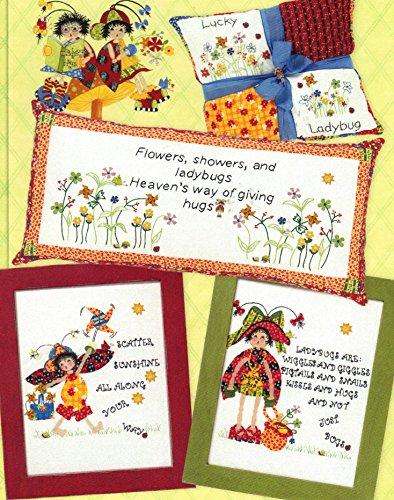 (Ladybug Hugs Stitcheries - #T185 - Tenderberry Stitches - Stitching Patterns - Marlene Rasmussen - Colleen)
