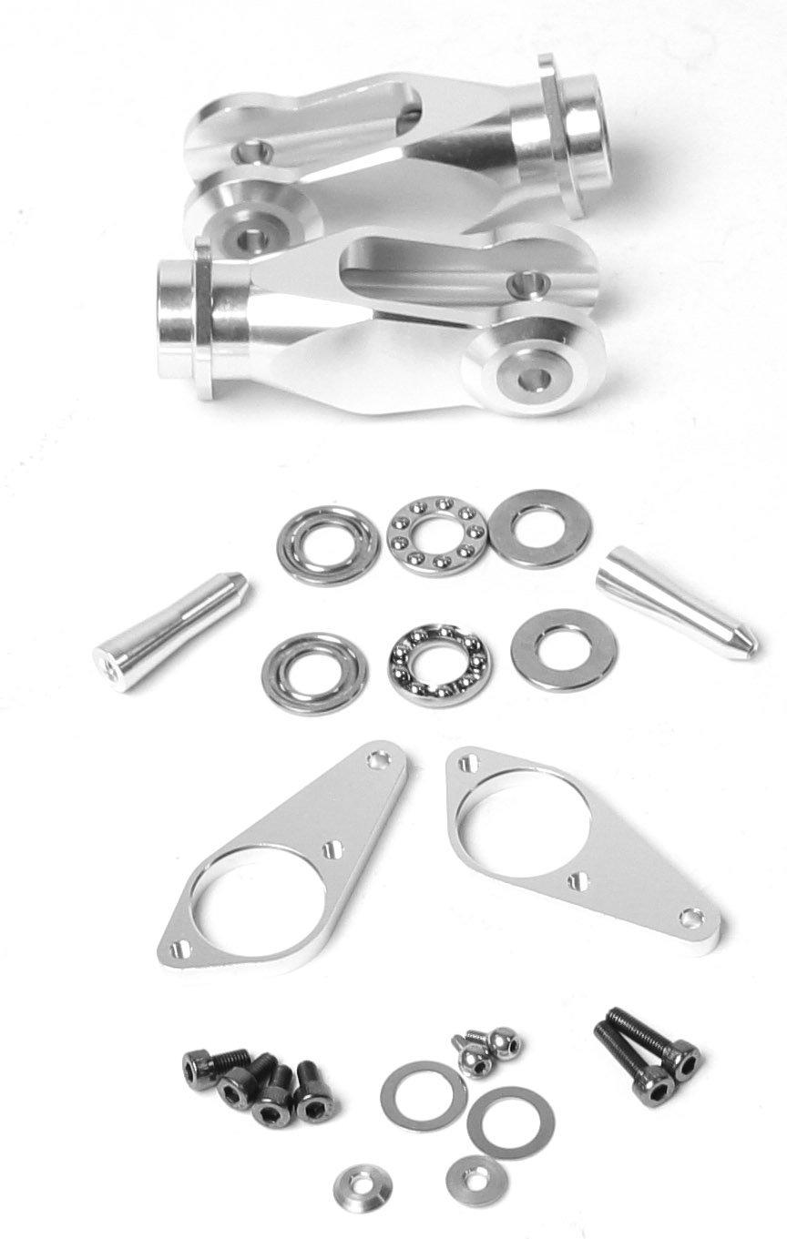 G4/E720 FB Metall Haupt-Rotor-Blatthalter Komplett-Set (2)