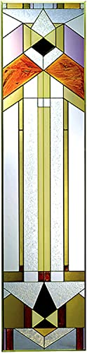 Deco-tectural, 10.25 x 42 Vertical Stained Glass Panel
