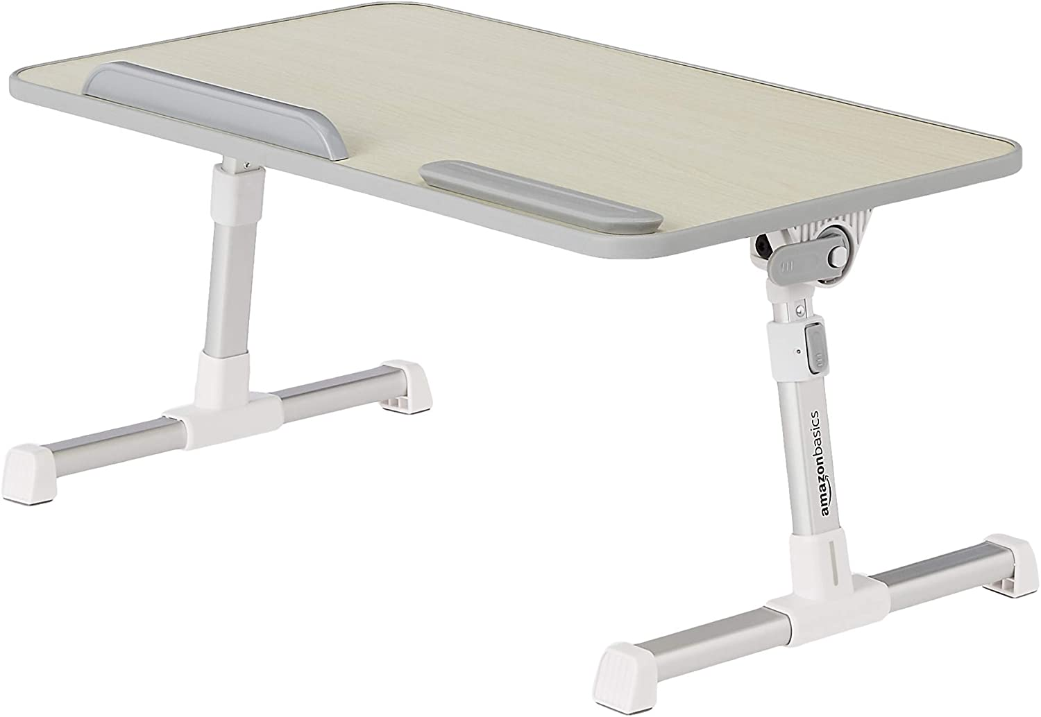 AmazonBasics Adjustable and Portable Laptop Table - Medium
