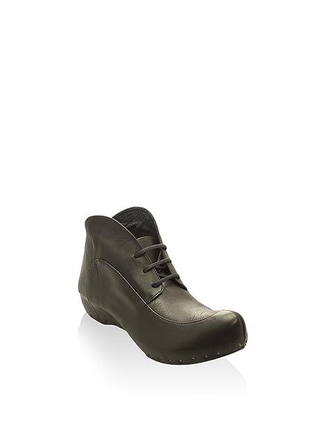 VIALIS Botines 5955 Lola Desert Negro EU 36: Amazon.es: Zapatos y complementos