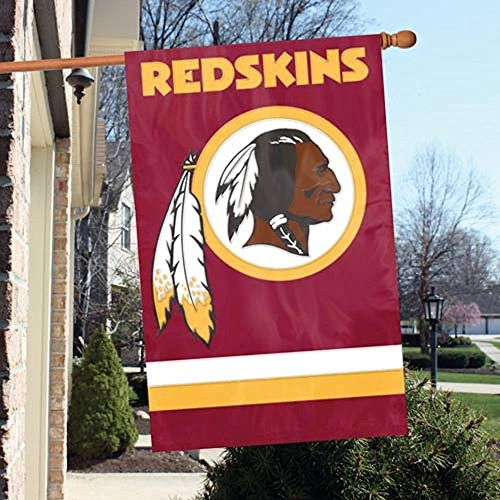Party Animal Washington Redskins Applique Banner Flag