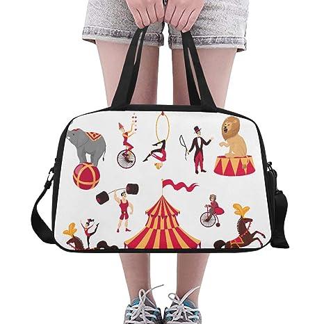 Bolsos para niñas Conjunto de elementos de circo Carpa ...