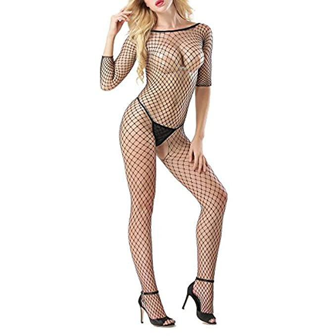 Discover best quality exceptional range of colors Sexy Fishnet Bodysuit,Fishnet Lingerie For Women,Fishnet Lingerie Set,Sexy  Lingerie For Women For Sexy Fishnet,Sexy Women Fishnet Sheer, Black, Medium