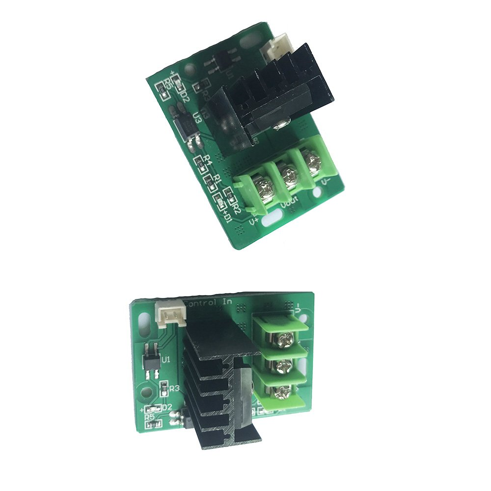 Creality 3D Printer Heat Bed Mosfet Tube Hot Bed Power Module Expansion for 3D Printer Heating Bed Accessories Pack of 2