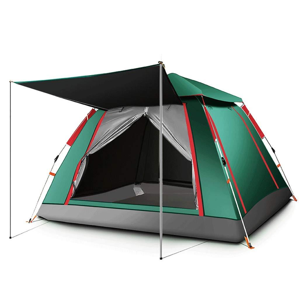 ZL-Zelte 5-8 Personen Zelt wasserdicht, feuchtigkeitsfest, Schädlingsbekämpfung im Freien (Farbe   A)