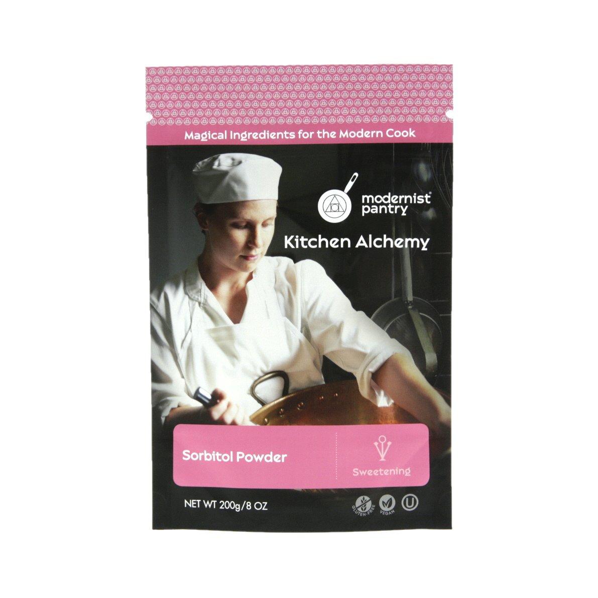 Pure Sorbitol Powder ☮ Vegan ❤ Gluten-Free ✡ OU Kosher Certified - 200g/7oz.
