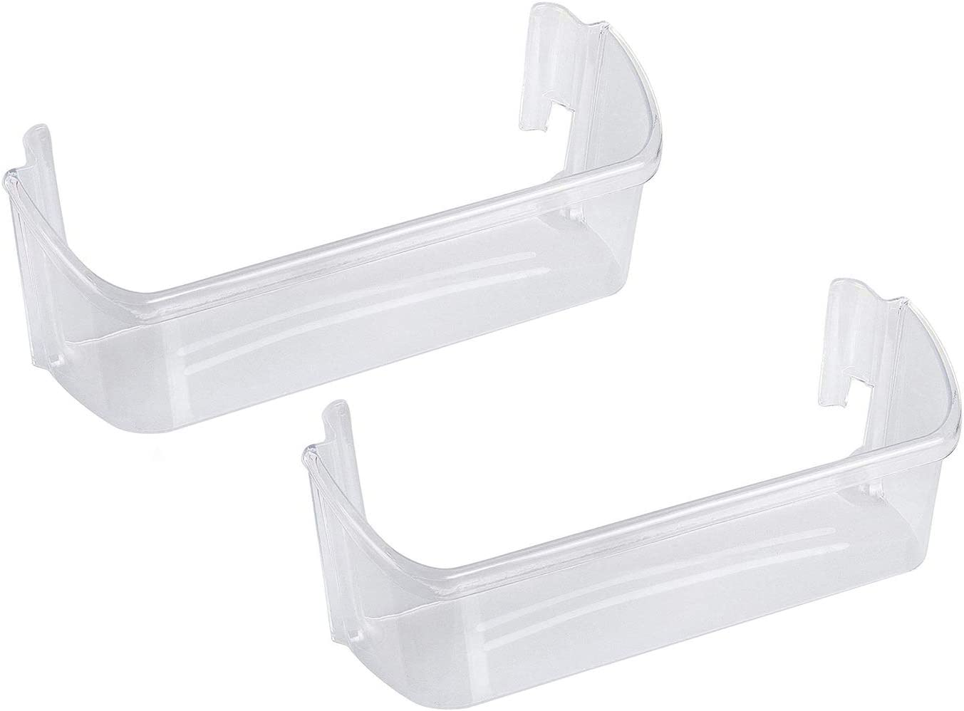 Ecumfy (Pack of 2) 240323002 Door Bin Shelf Compatible with Frigidaire Electrolux Refrigerator Replaces 240323005, 240323006, 240323009, AP2115742, PS429725