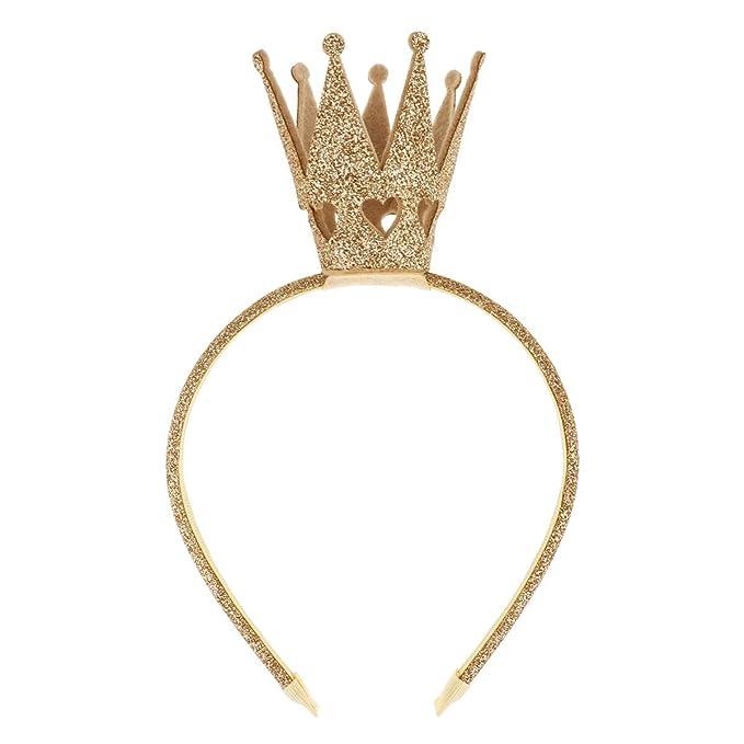 Yizyif Prinzessin Krone Haarreif Mit Glitzer Geburtstag Haarband