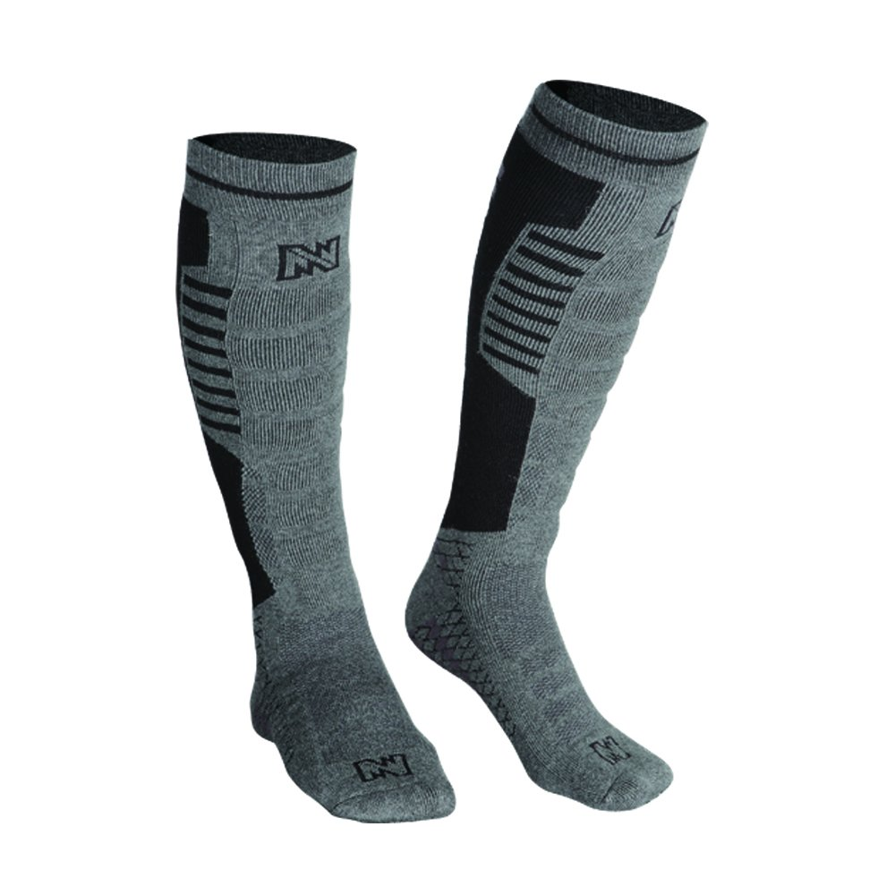 Mobile Warming Heated Electric Socks 3.7V Battery Operated with Remote, Men 10-14 by Mobile Warming