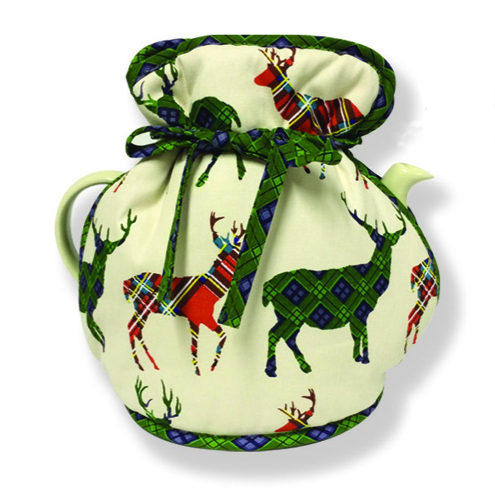 D&C Supplies New Stag Tartan D&C Design Muff Tea Cosy