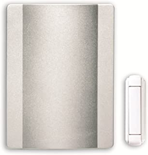 HONEYWELL RPW212A1008//A Door Chime,Wired,Push,Lit,Brushed Nickel