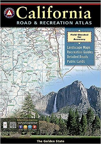California Road And Recreation Atlas Benchmark Atlas Benchmark