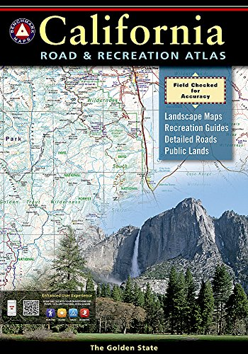 - California Road and Recreation Atlas (Benchmark Atlas)