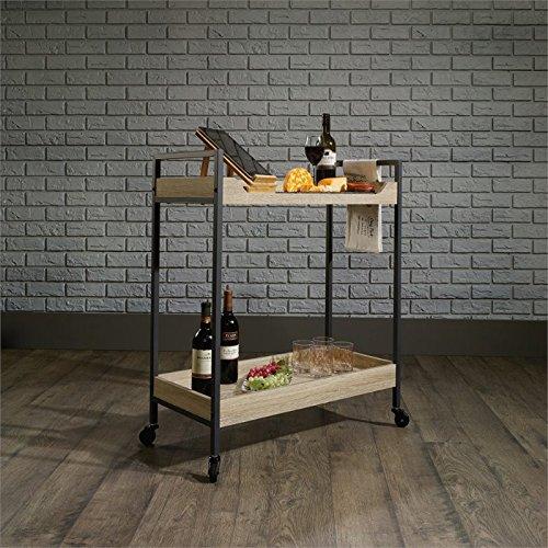 wood bar cart - 3