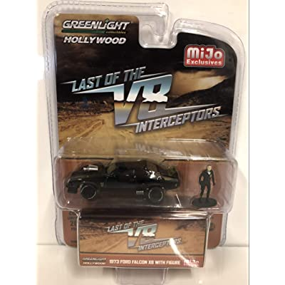 Greenlight 1973 Ford Falcon XB with Figure The Last of The V8 Interceptors (1979) Movie Limited Edition to 4,600 Pieces Worldwide 1/64 Diecast Model Car 51208: Toys & Games