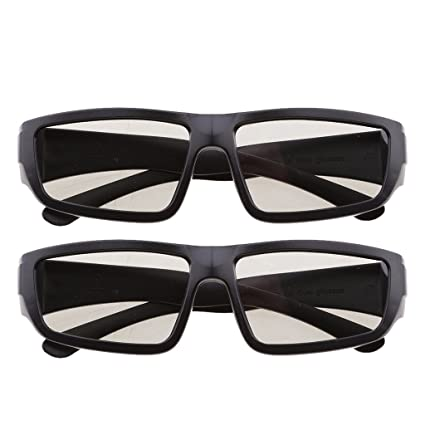 Baoblaze Gafas 3D de Cine Accesorios Móvil Ordenador Portátil Electrónica de Consumo