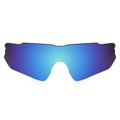 03a79c7ea6451 Revant Lente polarizados para Oakley Radar EV Path (Azul Hielo)  MirrorShield®  Amazon.es  Ropa y accesorios