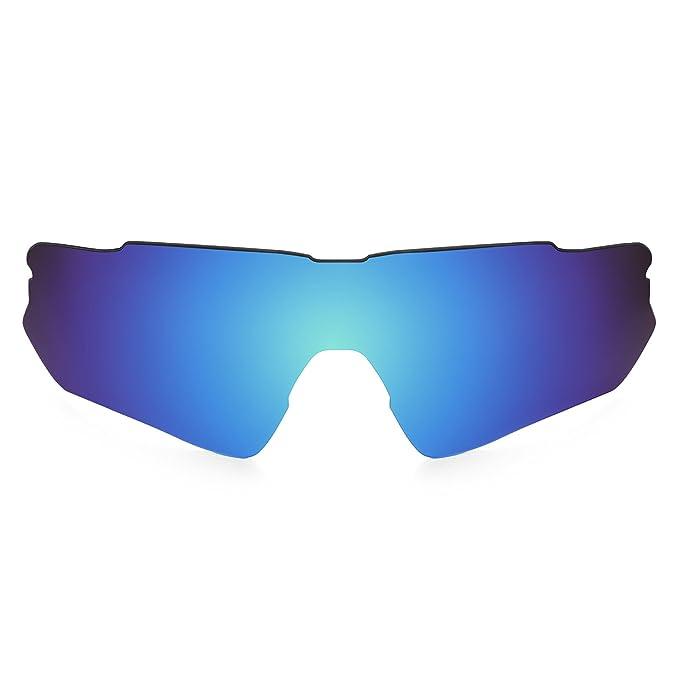 Revant Lente polarizados para Oakley Radar EV Path (Azul Hielo) MirrorShield® Asian Fit