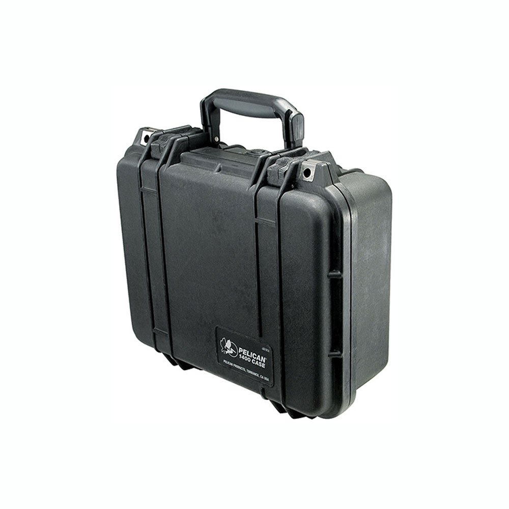 Pelican 1400 Case With Foam (Black)