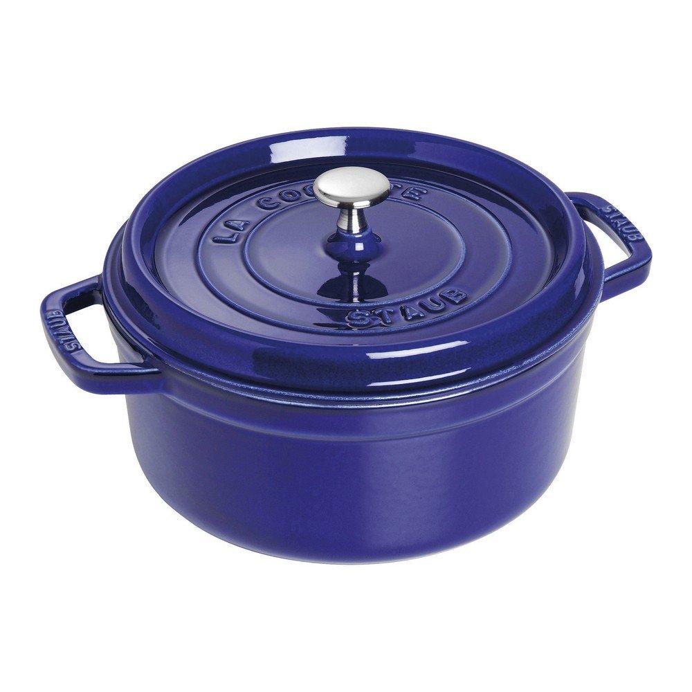 Staub 1102491 Round Cocotte, 4 quart, Dark Blue