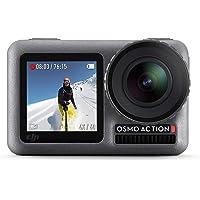 DJI Osmo Dual Screen 12.0 MP 4K Ultra HDR Waterproof Action Camera (Black)