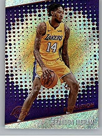 47045888f09 Amazon.com: 2017-18 Panini Revolution #100 Brandon Ingram Los ...