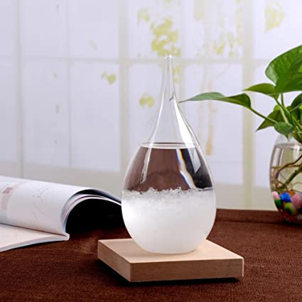 amazon com moharwall weather predicting storm glass home office
