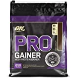Optimum Nutrition Pro Gainer Weight Gainer Protein Powder,Double Rich Chocolate, 10.19 Pounds (Packaging May Vary)