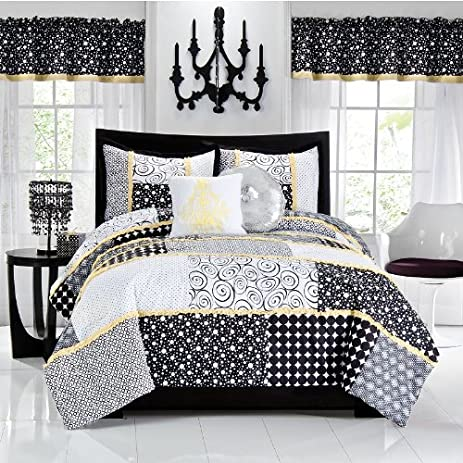 Amazon seventeen dot to dot 3 pc comforter set fullqueen seventeen dot to dot 3 pc comforter set fullqueen altavistaventures Gallery
