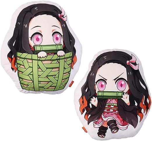 Kimetsu no Yaiba Kamado Nezuko Stuffed Doll Gifts Plush Toy Anime Demon Slayer