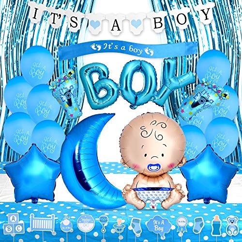 Baby Shower Decorations for Boy Kit- Includes