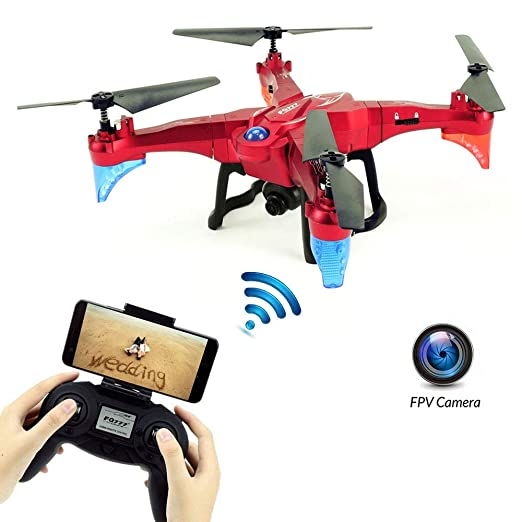 E-kinds Drone para niños, WiFi FPV RC Quadcopter con Control ...