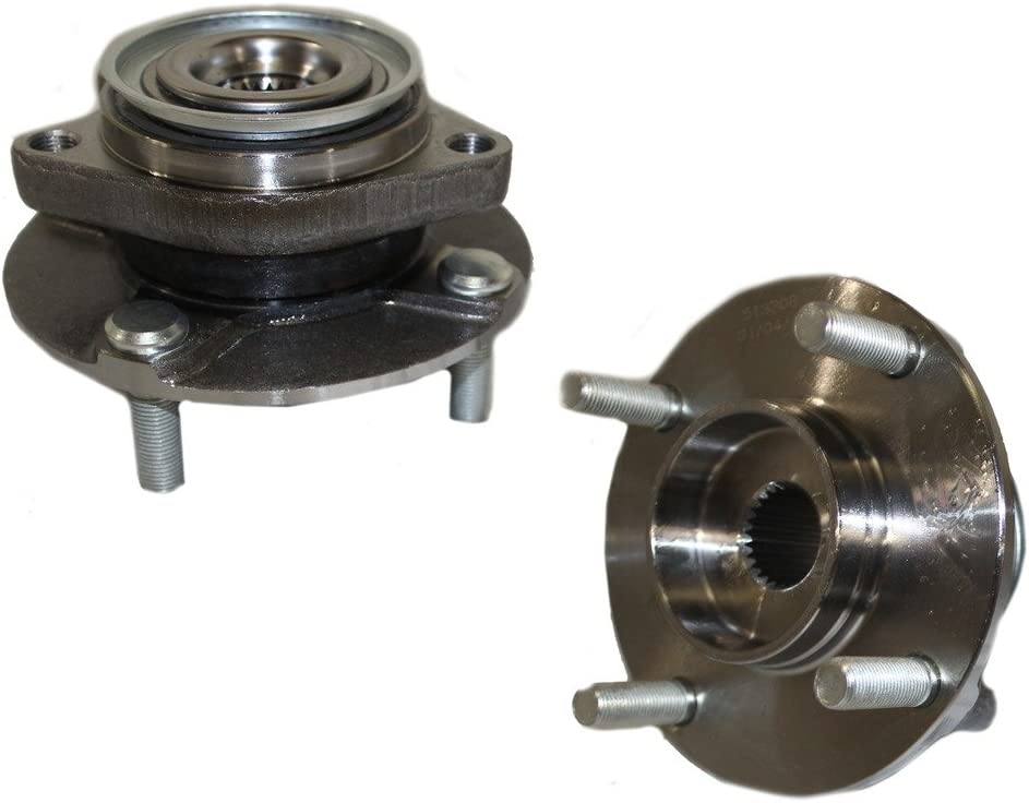 2 Front Wheel Hub /& Bearing Assembly for 2007-2009 2010 2011 2012 Nissan Versa
