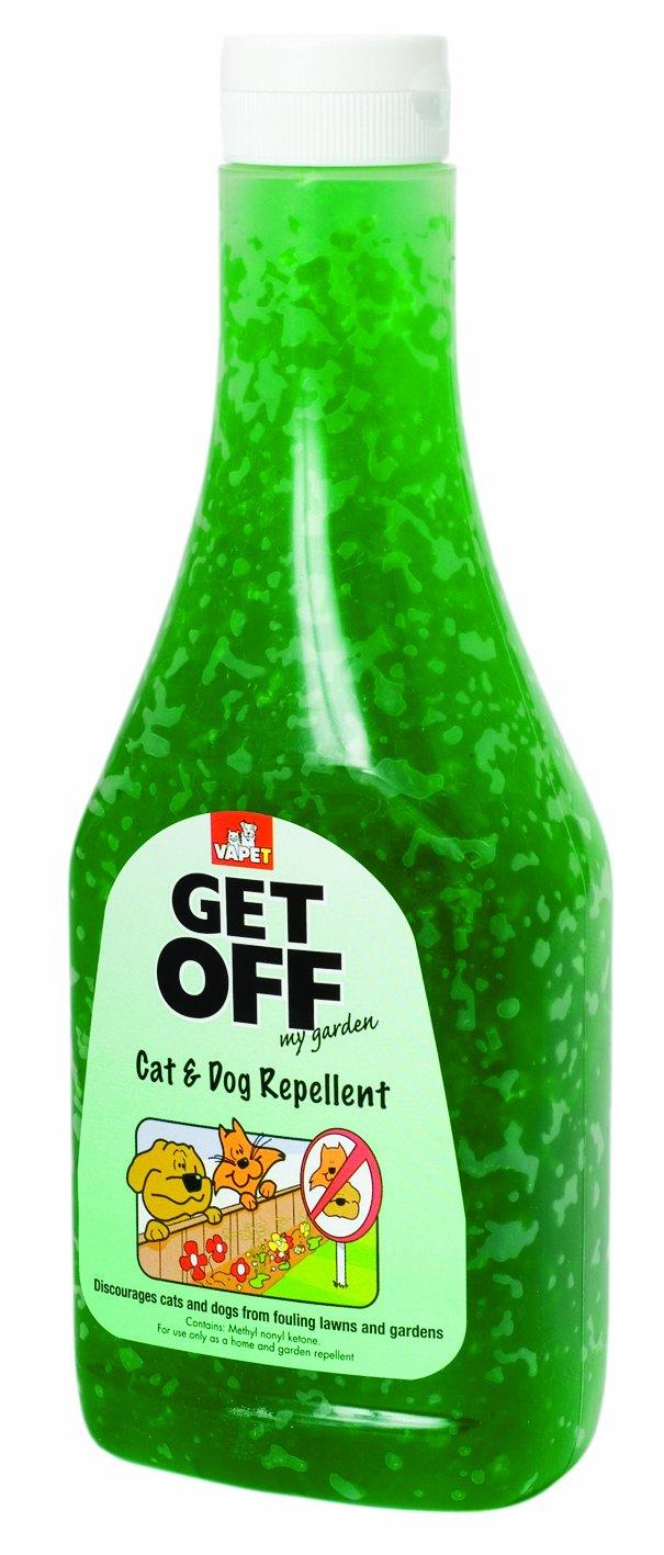 Amazon.com: Get Off My Garden Cat And Dog Repellent Scatter Crystals 400 G:  Pet Supplies