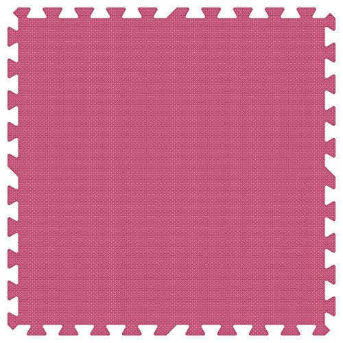 PINK 24 in. x 24 in. Comfortable Mat (100 sq.ft. / Case) by Groovy Mats