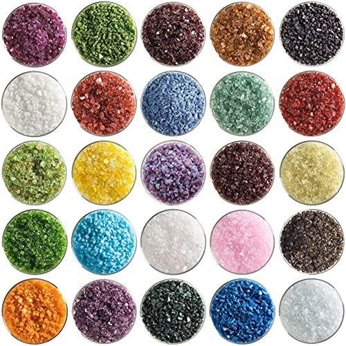 Fritas De Vidrio 90 COE - 25 Colores 30 Gramos c/u