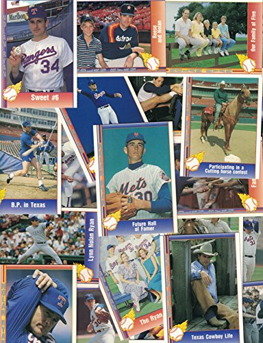 Nolan Ryan / 25 Different Baseball Cards featuring Nolan Ryan - Pacific Collection