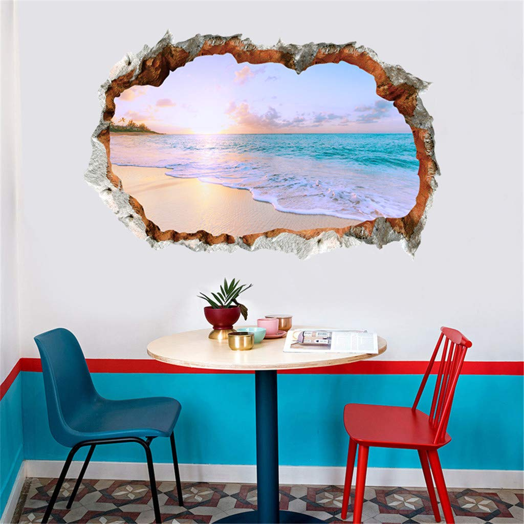 3D DIY Family Home Wall Sticker Removable Mural Decals Vinyl Art Room Decor