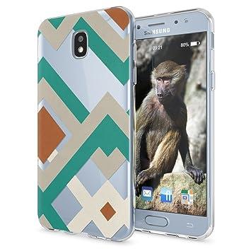 NALIA Funda Carcasa para Samsung Galaxy J5 2017 (EU-Model), Protectora Movil TPU Silicona Ultra-Fina Gel Transparente, Cubierta Goma Bumper Cover Case ...