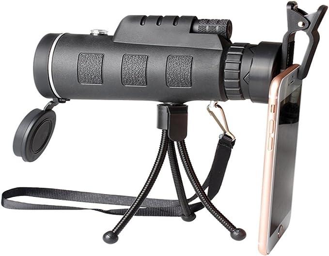 Telescopio Compacto Impermeable Monocular Visi/ón Nocturna Digital Lente Port/átil Al Aire Libre Tomar Fotos Video