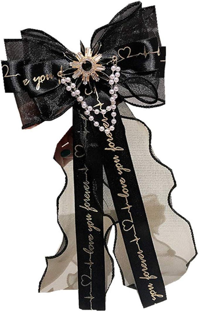 Lunji. Corbata de encaje para mujer, preciosa joya de corbata con ...