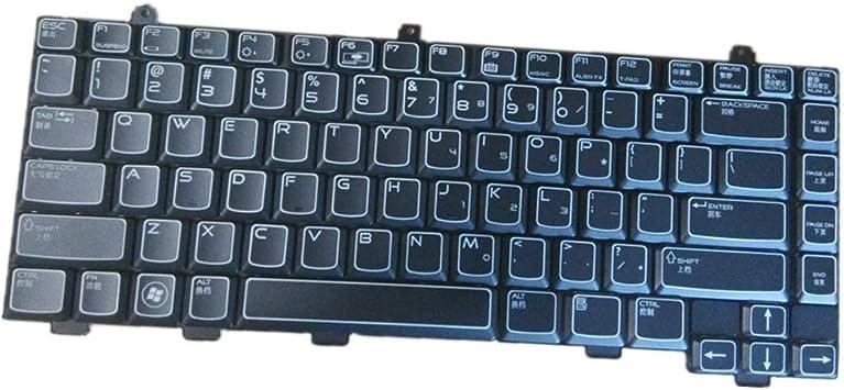 Teclado del Ordenador portátil para For DELL Alienware M15x ...