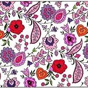 Paisley Designs Coloring Book Dover Design Books Marty