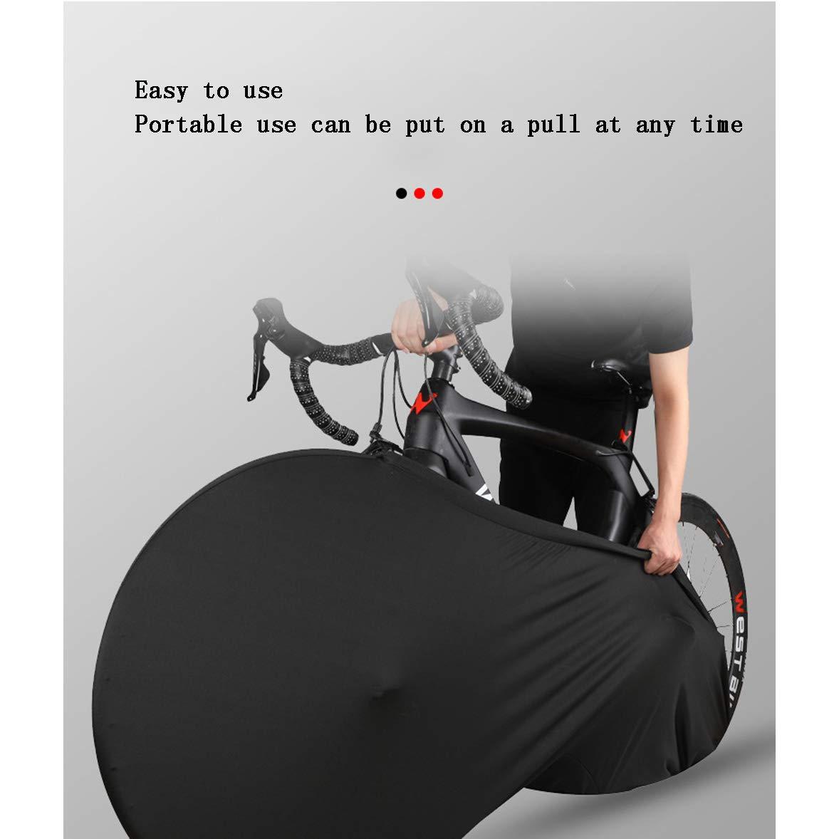 La Mejor Soluci/ón para Mantener Su Interior Limpio para Bicicletas De Adultos A BINGFENG Funda Bici para Interiores Funda para Bicicleta Exterior Cubierta Interior De Bicicleta